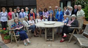 Volunteer's lunch, June 2016